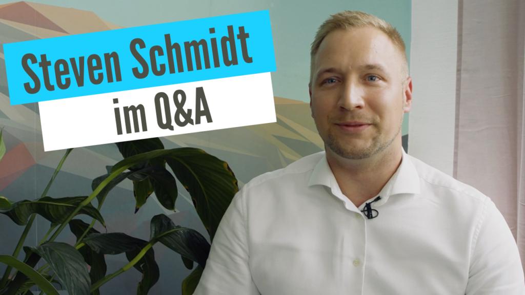 Q&A // Steven Schmidt beantwortet eure Fragen – Pensum MED