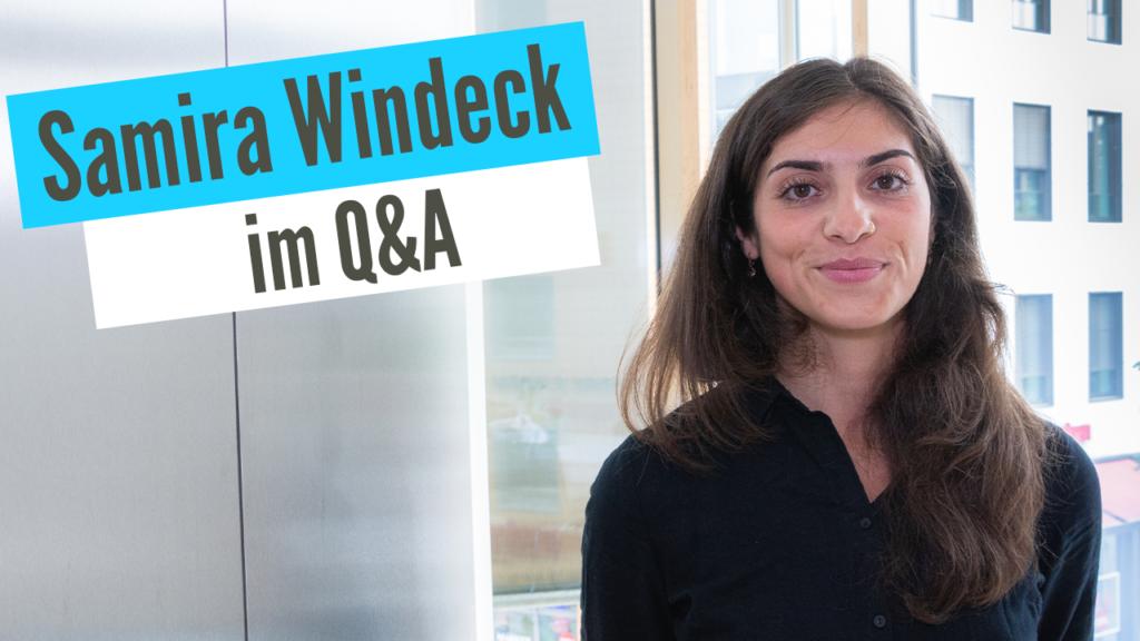 Samira Windeck (HR Management) im Q&A