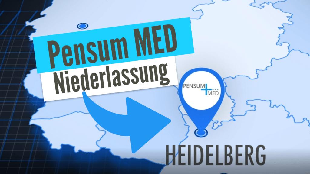 Pensum MED – Unsere Niederlassung in Heidelberg