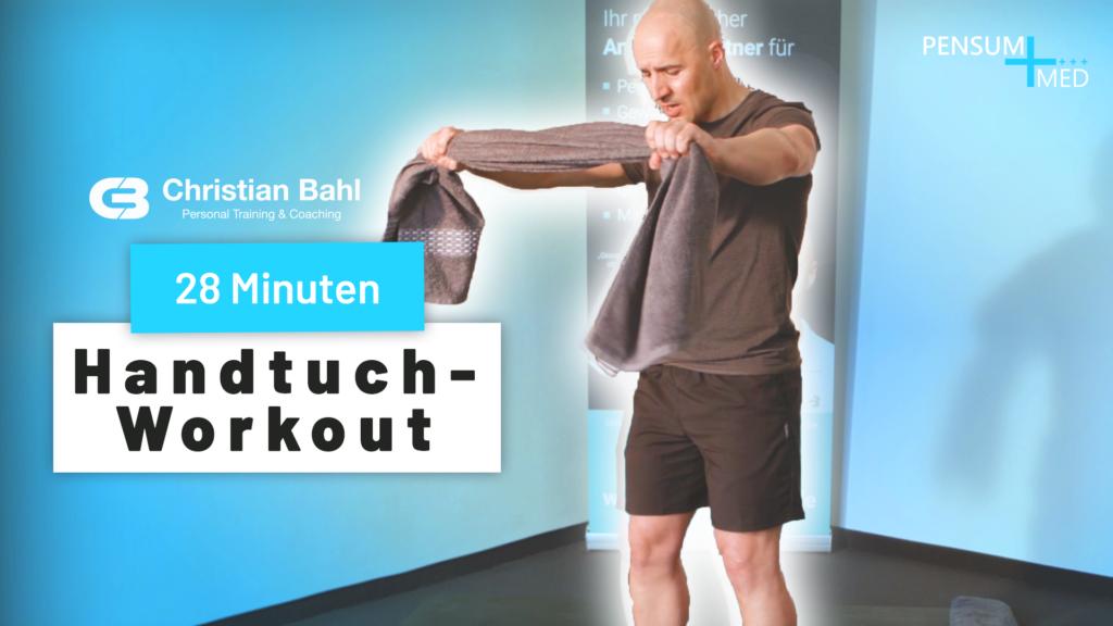 Handtuch-Training